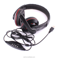 2016 best selling wired headset for wholesale