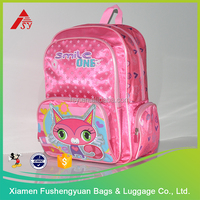 cute cartoon lovely little girl school bag for teenagers