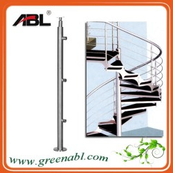 Large engineering luxury stair handrail