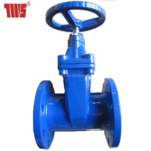 DIN3352 Assembly Drawing Flange End Gate Valve