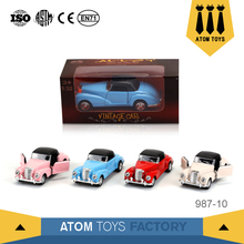 china toys manufacturer wholesale 1:32 miniature car die cast model for gifts
