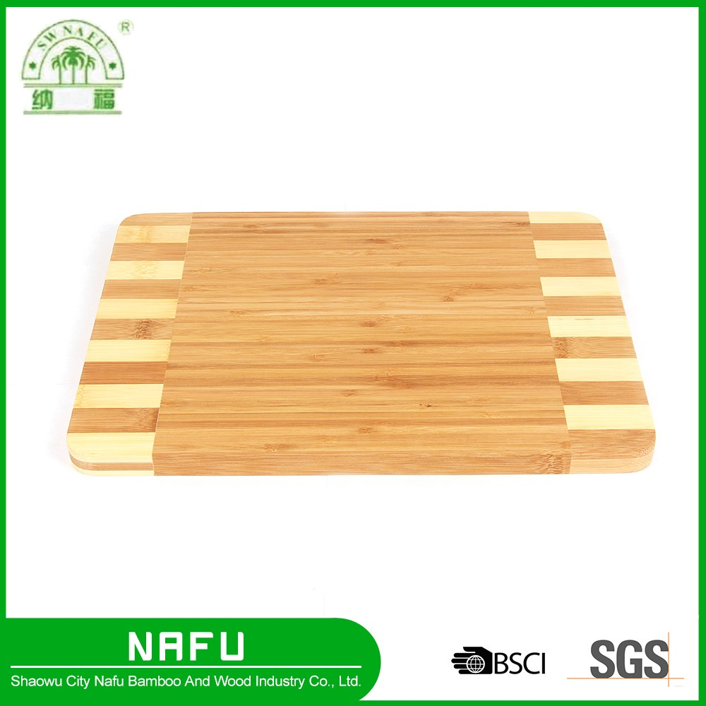 Customized Cheap bamboo thick function chopping board for kitchen