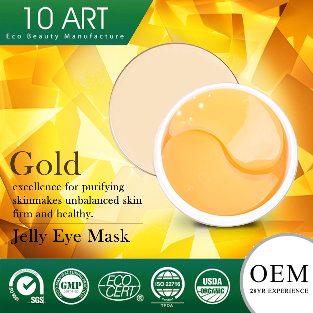 Organic Instantly repairing No Sulfates Crystal Collagen Jelly Eye Gel Mask