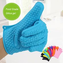 Manufacturer Supplies Lovely Microwave Use Oven Silicone Hand Glove