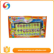 Battery operated English learning tools early educational wall charts with sound