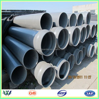 "Selling High Quality Plastic 4"" Black PVC Pipe"