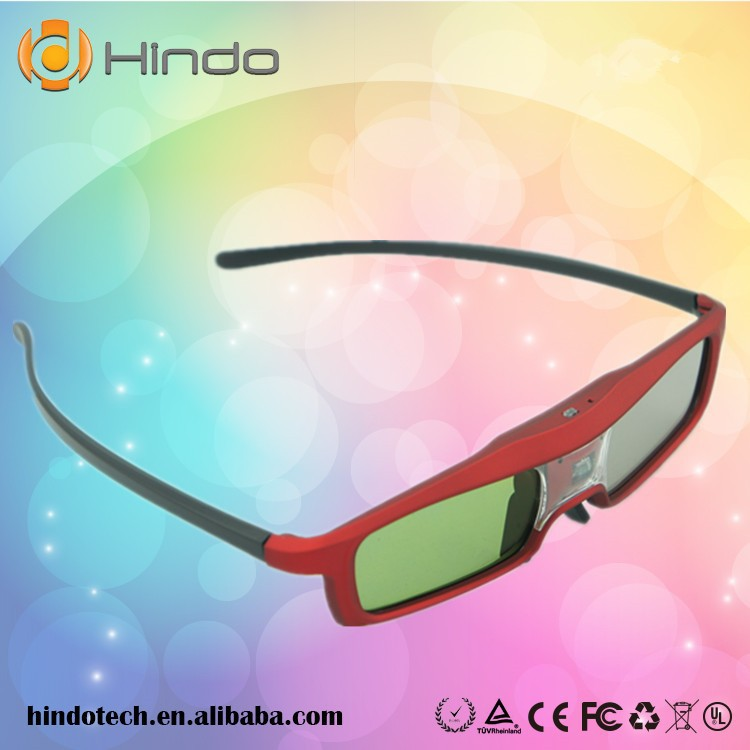 Active Shutter 3D Glasses for BenQ Projector MS517 MX518 MW519 MS517F MS513 MW516 Projector