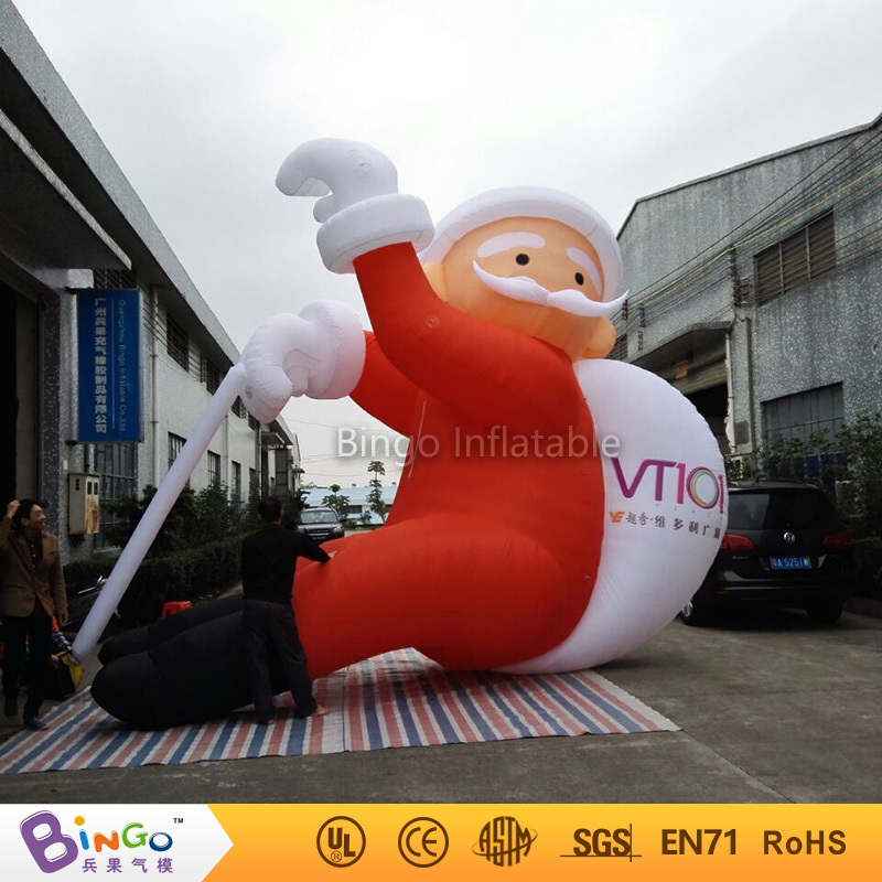 inflatable santa with gift bag for <strong>Christmas</strong> with high quality