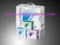 Recyclable bamboo and anion sanitary towel