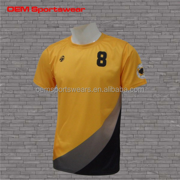 Mens sportswear custom t shirt printing yellow black buy for Custom t shirt printing online