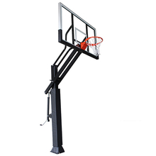Inground adjustable steel pipe basketball hoops/basketball stand BS34