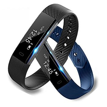 Life waterproof iOS Android Pedometer Bluetooth Smart bracelet manual