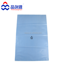 anti rust plastic bag for protecting metal anti rust light blue anti rust bag