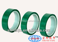 High Temperature Green PET Shielding Tape For PCB Solder Plating Masking