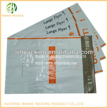 Extra large envelope plastic bag clear self adhesive