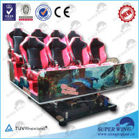 Luxury 5d cinema platform china high level electric 5d cinema