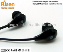 2016 A101 latest stylish with strong bass plastic headphone /earphone 3.5mm Jack