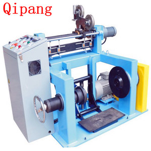 The rolling ring machine with steel sewing thread winding job work labeling