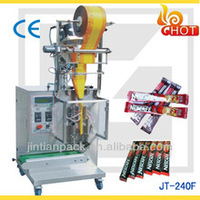 JT-240F small paper plastic / film bag pouch /Sachet coffee powder packing machine