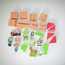 29pcs Multi-colored EVA Foam Building Blocks Lightweight Bricks Kid Play Toy