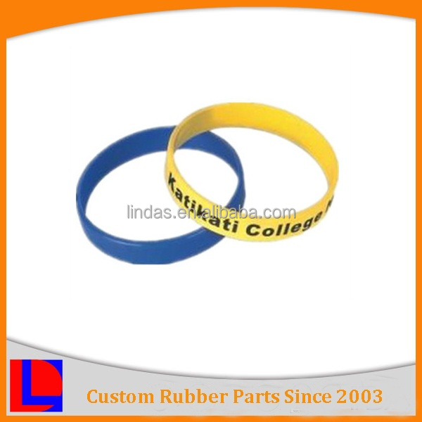 Customized with good quality hot sale factory price silicon rubber band