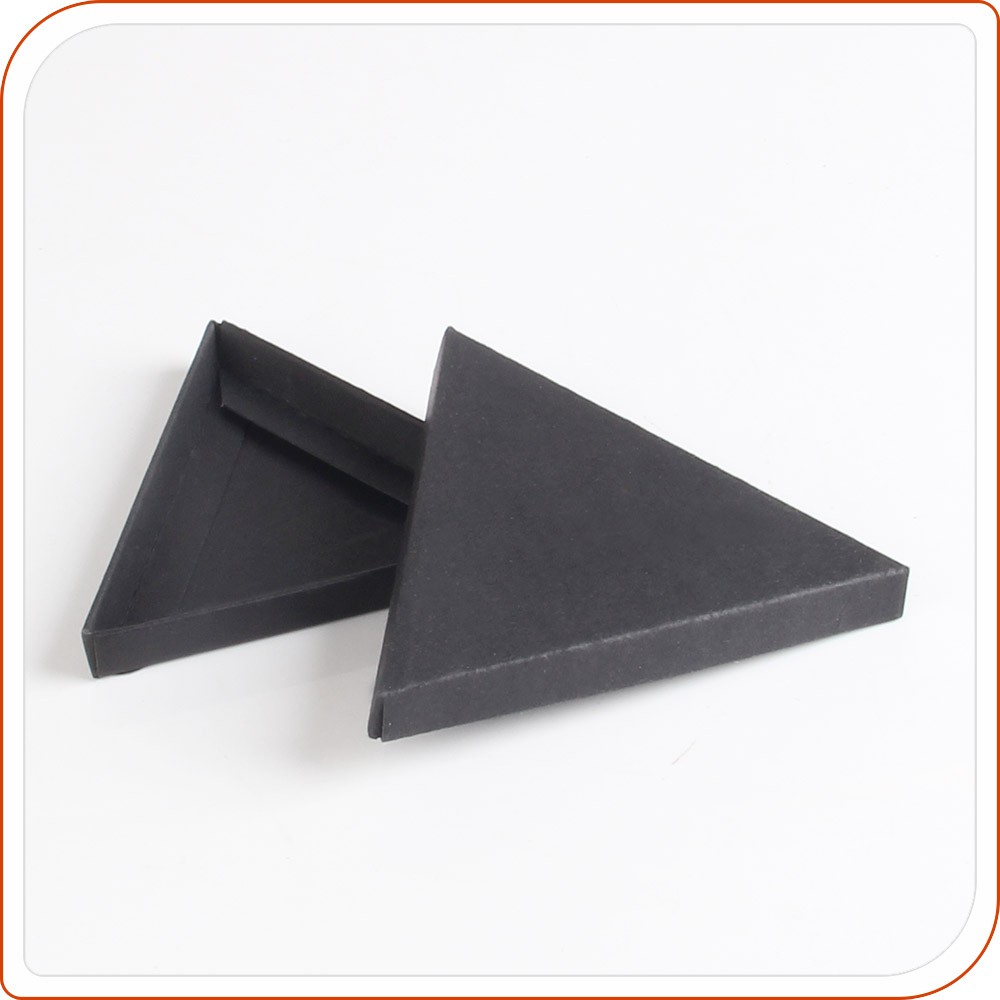 triangle shape paper carton gift box for wholesale