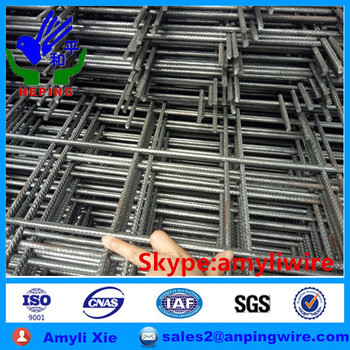 Reinforcing construction steel mesh
