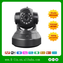 Megapixel MINI PTZ Security Wireless IP Camera Linkage Alarm