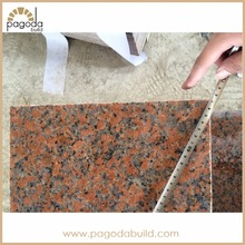 China Maple Red G562 Granite 60x60 tiles and big Slabs Customized Size from Guangxi Province