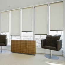 roller blind bracket customized blackout fabric window blind curtains