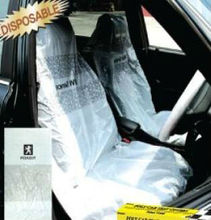 plastic car seat cover for painting