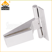 commercial frameless glass door aluminium hinges