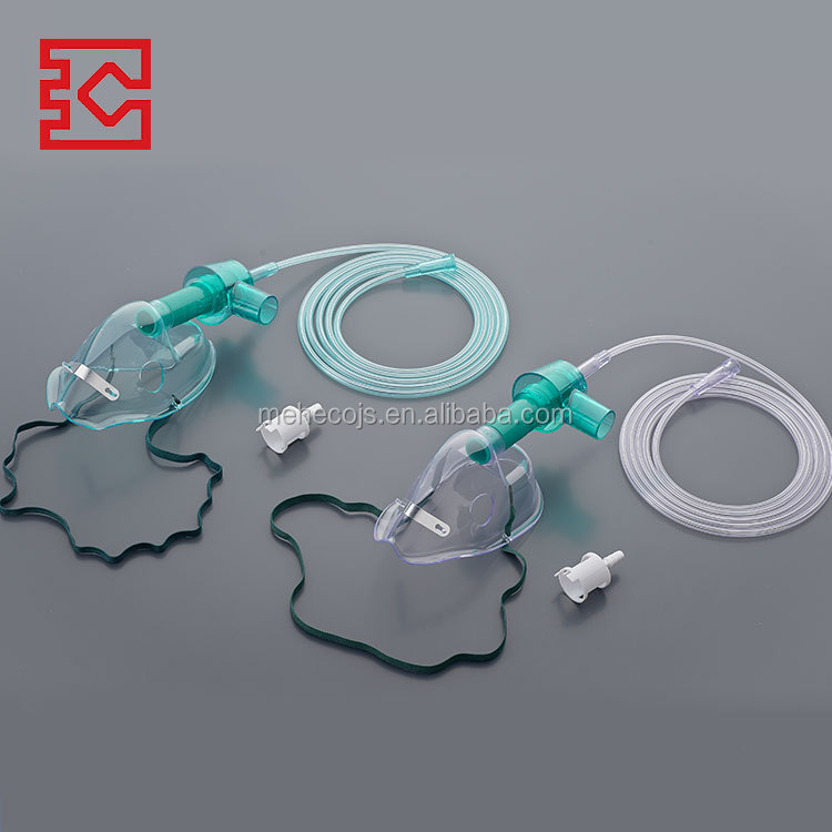 Best Manufacture High Hope medical PVC 40% oxygen concentration many advantages safe venturi mask with two diluters