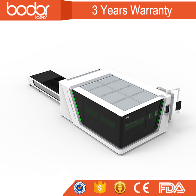 Bodor 3mm stainless steel fiber laser cutting machine for metal sheet