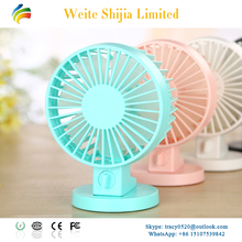 WT-8019 Manufacturing Ultra Quiet Usb Table Fan For Student