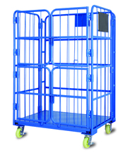 warehouse transportation roll container cage