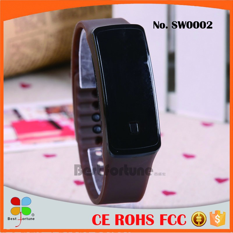 Wholesale Custom Made Silicone Watches , Silicon Watch