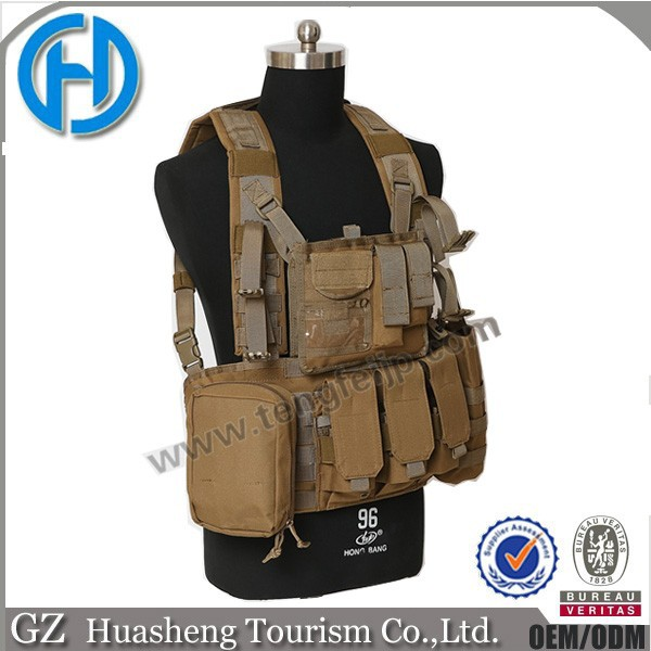 New Tan MILITARY GRADE Vest MOLLE TACTICAL X Band Army vests