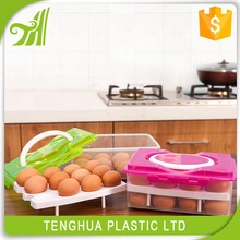 New Design Hot Sell Plastic Colorful Egg Tray/ Bin/ Container