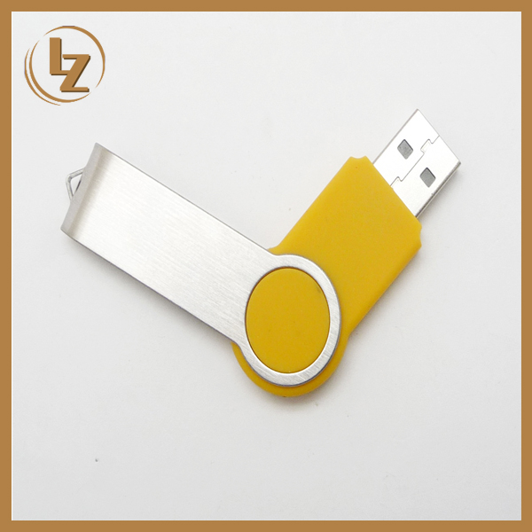 All Capacity Available Swivel USB with Custom Logo/USB Flash Memory/USB Disk on Sale