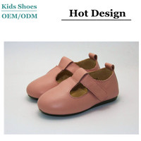 2016 Hot Selling Kid Mary Jane Toddler Baby Girl Shoes Children Shoes Dress Genuine Leather
