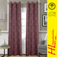 free sample available dyed yarn dyed polyester fabric curtains