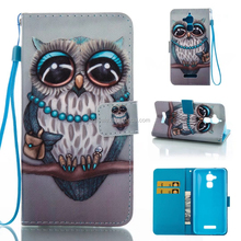 Flip Cover Leather Phone Owl Case Standing Card Holder Designer For iPhone X Accessries Iphone Mobile 5 5S 6 6S 7 7S 8 8S