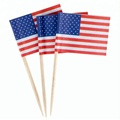 China factory toothpick diameter 2.0mm wooden toothpickk flag
