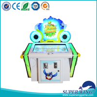 Kids coin operated game machine, touch screen electronic game machine