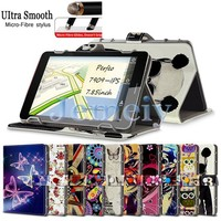"Hot! Magnetic Flip Universal Tablet Case 7.85 inch For Perfeo 7909-IPS 7.85"", Multiple Patterns Printed PU leather Stand Cover"