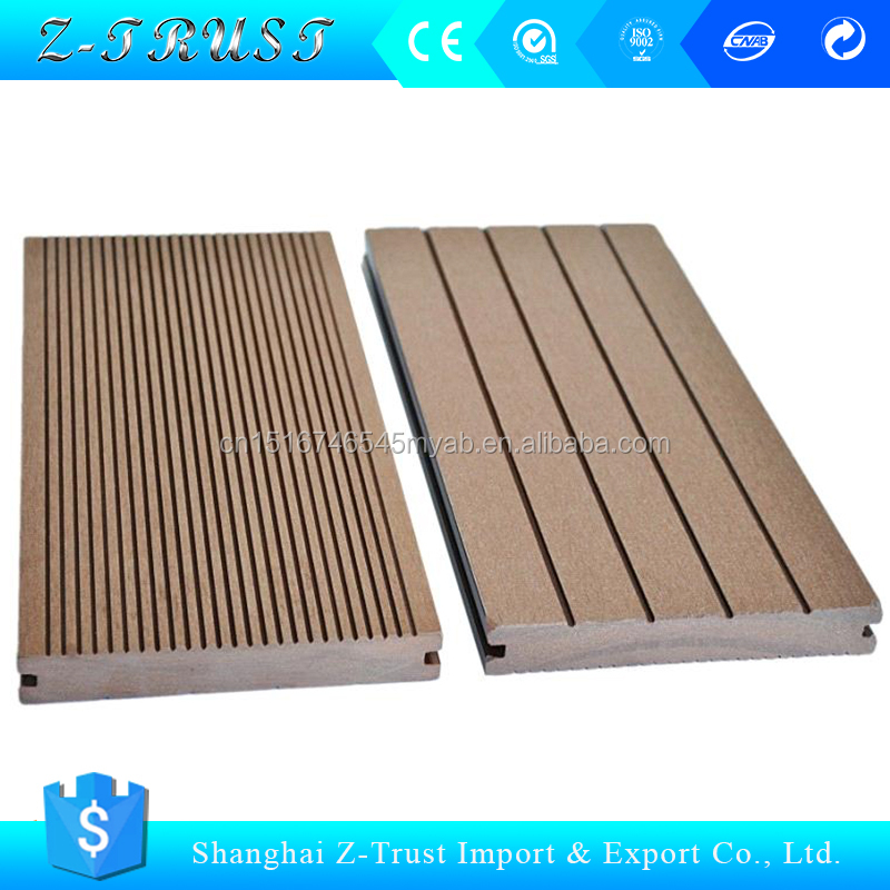 wpc wood siding/waterproof wall panels/wood plastic composite exterior wood wall cladding