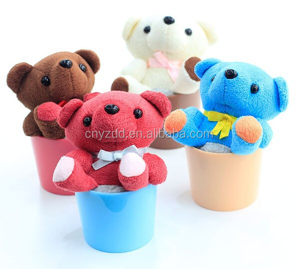 Screen Cleaner Plush Toy / Plush Stuffed Screen Cleaner Bear Toy