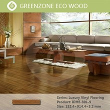 green wood mobile indoor pvc eco click vinyl flooring