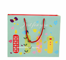 cute shopping paper bag,london gift paper bags,wholesale cute paper gift bag